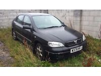Vauxhall Astra 1.8l Black. Spares and Repairs only £250 ono