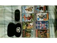 PSP and 8 movies