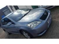 Toyota corolla door, 1.6 petrol, with mot, good runner, cheap car