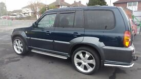 4×4 jeep 2004 HYUNDAI TERRACAN 2.9L Diesel With Full Service History And Long MOT