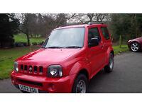 Low milage 4x4 Suzuki Jymny JLX 1.3 2002