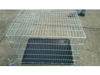 HUGE DOG/Animal CAGE...HEAVY DUTY. EXCELLENT CONDITION. BARGAIN