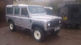 Land Rover Defender 110 galvanised chassis 54k