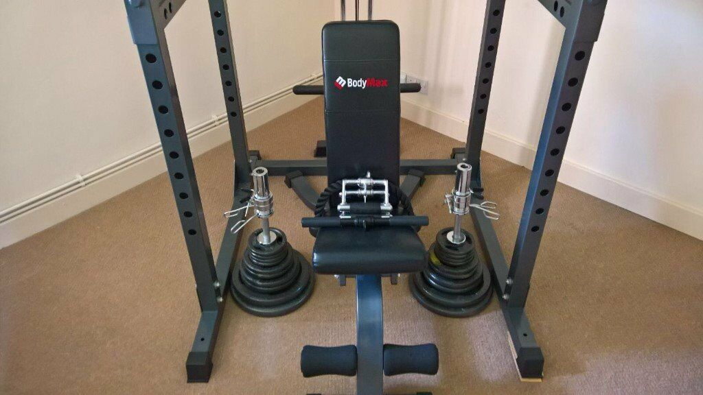 Bodymax Power Rack Bench And Weights In Mansfield