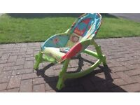 Fisher Prices vibrating rocking chair