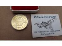 Concorde Coin/ Medallion