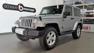 2013 Jeep Wrangler SAHARA + NAVIGATION + JAMAIS ACCIDENTE