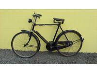 Old Vintage GENTS Black BICYCLE
