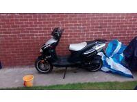 Moped 49cc. YY50-QT-6 £450