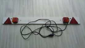 1.5 metre lighting board 7 pin suitable for trailer or car