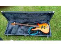 Bass collection guitar new condition