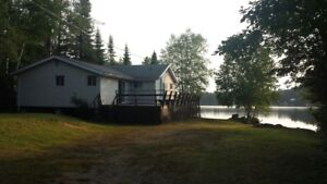 Camp at One Island Lake near Thunder Bay