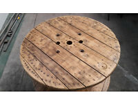 Stunning Cable Reel Garden Table