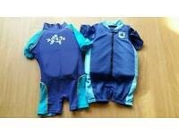 Speedo / Zoggs Float Suits Aged 2-3 years