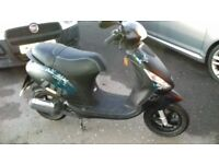 Piaggio Zip 50 2-Stroke. Mint Condition. Only 640 miles