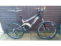 Cannondale Trigger 1 carbon full suspension mtb