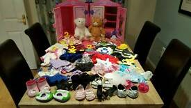 large selection of Build a bear items