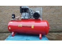 ABAC Air Compressor 200Ltr For Removing Scania , Volvo Wheels or Spray Painting Tractors + Digger