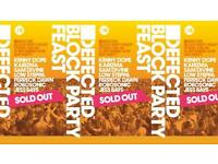 4 x Defected Block Party Feast Tickets - £30 Each