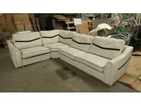 Huge SISIITALIA Leather Corner Sofa