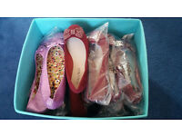 20 Pieces Wholesale Job Lot Of Ladies Pump Shoes - Ideal For Resale