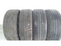 Vauxhall Astra J Model 225/50x17 Winter Tyres & Wheels Set of 4