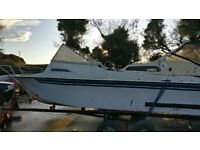 19ft Project boat with trailer