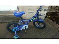 "Child's Bike - Apollo MoonMan 14"" wheels"