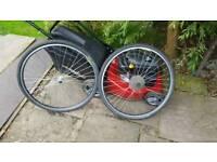 Mtb wheels 28inch and 26inch