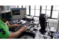 Component level computer repairs electronics technician