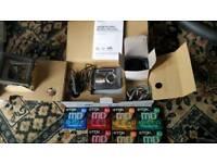 Sony portable mini disc recorder MZ G750 plus optical convertor