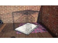 Dog crate - cage. X-Large £25