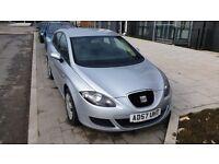 2008 Seat Leon 1.6 Petrol 5door Metallic Silver £1800