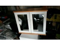 heart of house sandford mirrored bathroom wall cabinet