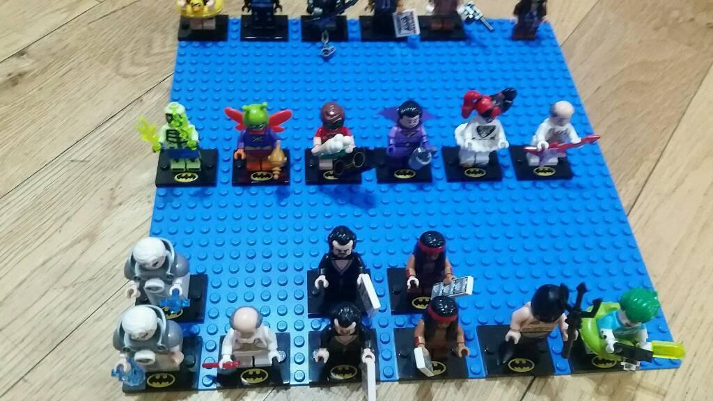 Lego batman and ninjago minifigures