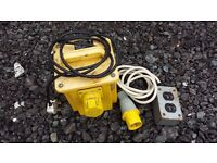 Professional 1 port 220 to 110 V heavy duty transformer with external fittings