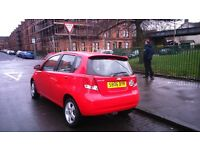 BRILLIANT 06 AUTOMATIC KALOS 1.4 SX, VERY LOW MILEAGE, 5DR HATCHBACK FULL YEAR MOT