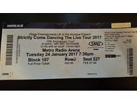 Strictly Come Dancing The Live Tour 2017 (1 only)