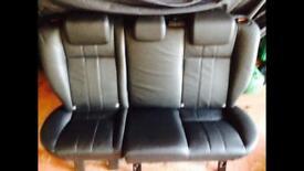 Freelander 2 Leather Rear seats.