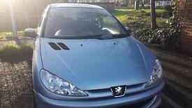 Silver 206 Sport - MOT January 218 - £1500 ono