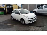 2005 NISSAN MICRA 1.3 FULL MOT ONLY 57000 MILES FAB DRIVER AND GOOD EXAMPLE £595