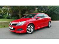 VAUXHALL ASTRA SPORTS 1.4i SXI*RED*HPI CLEAR*2 KEYS*AIRCON*SERVICE HISTORY*ALLOYS*MOT & TAXED*3 DOOR