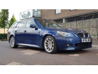 BMW 5 Series 3.0 530d M Sport Touring 5dr Diesel Automatic ((W.MILEAGE+9 MONTHS MOT+LEATHER))