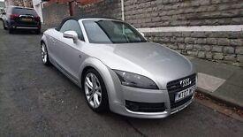 Silver Audi TT 2L