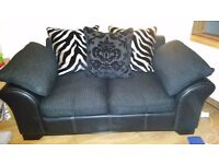 DFS Martina 2 seater sofa and cuddler chair