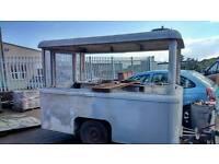 Vintage vangaurd 1952 catering trailer for restoration