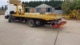 MAN 7.5 tonne Recovery truck Tilt and slide spec lift 2002