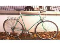 Falcon Cotswold bike commuter/tourer size Medium Reynolds 531 frame recent service