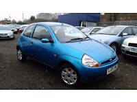 Ford KA 1.3, GENUINE LOW MILEAGE,HPI CLEAR, LONG MOT, CHEAP ON FUEL & TAX, BARGAIN