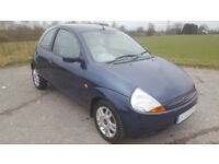 2005 FORD KA 1.3 LUXURY, ONLY 58000 MILES, MOT TILL JULY 2018, JUST 2 OWNERS, FULL SERVICE HISTORY
